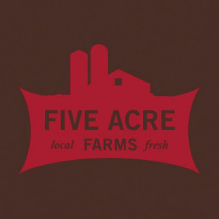 farm website design - five acre farms