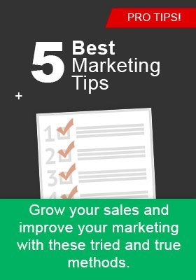 marketing tips1 - 5 Marketing Tips for Small Business Owners